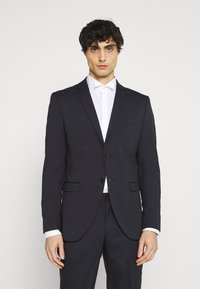 Selected Homme - SLHSLIM MYLOLOGAN CROP SUIT - Suit - navy blazer - 2
