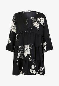 LASCANA - Shirt dress - black/cream - 5