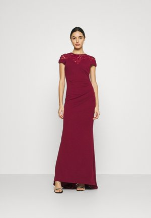 ELLE DRESS - Galajurk - wine