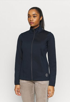 WOMENS TECH FULL ZIP - Fleece jacket - navy
