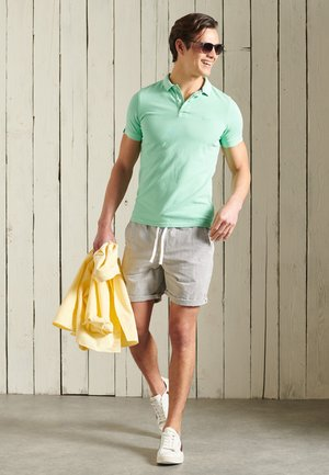 Polo shirt - hot mint