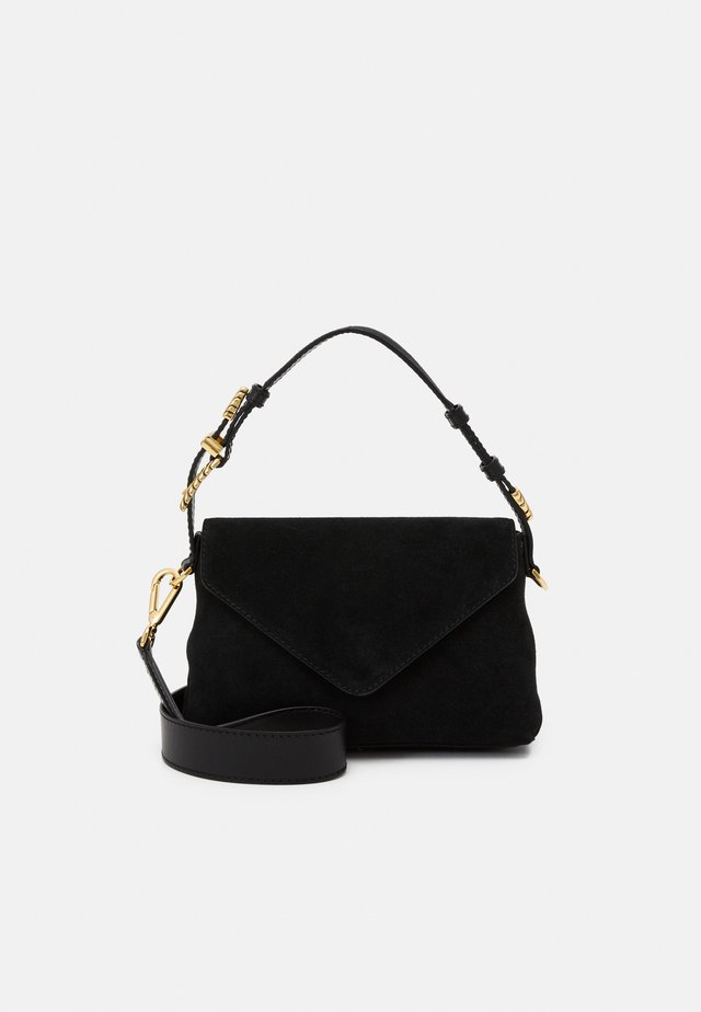 SHOULDER BAG FLAP - Schoudertas - black