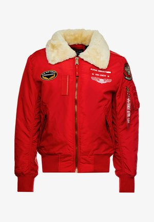 INJECTOR  AIR FORCE - Bomber Jacket - speed red