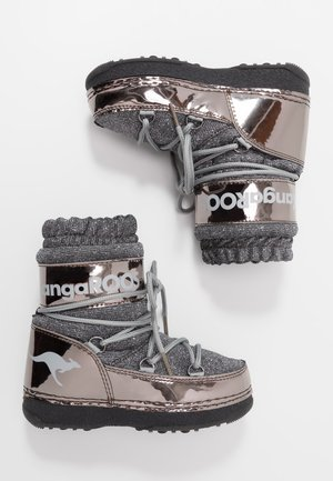 K-MOON - Snowboot/Winterstiefel - steel grey metallic/vapor grey