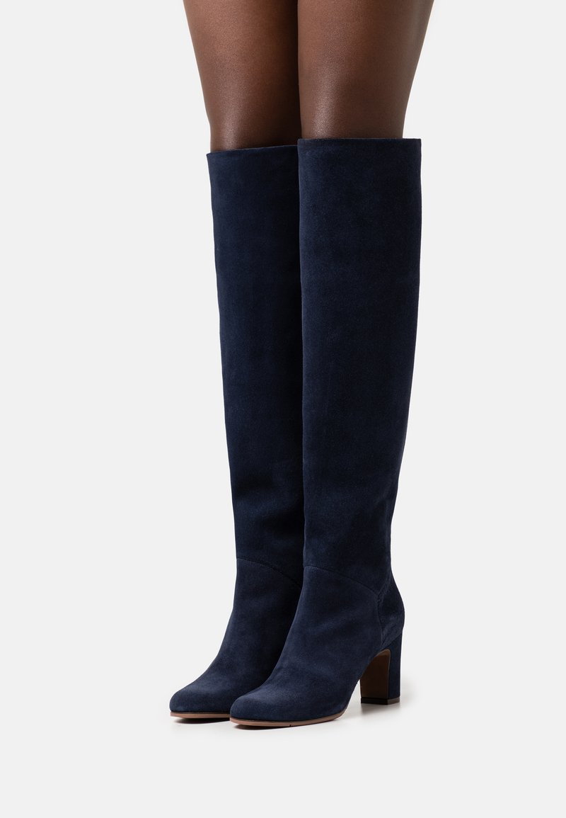 L'Autre Chose - BOOT NO ZIP - Over-the-knee boots - abyss