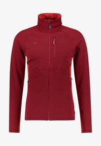Kaikkialla - Fleece jacket - rot (500) - 0