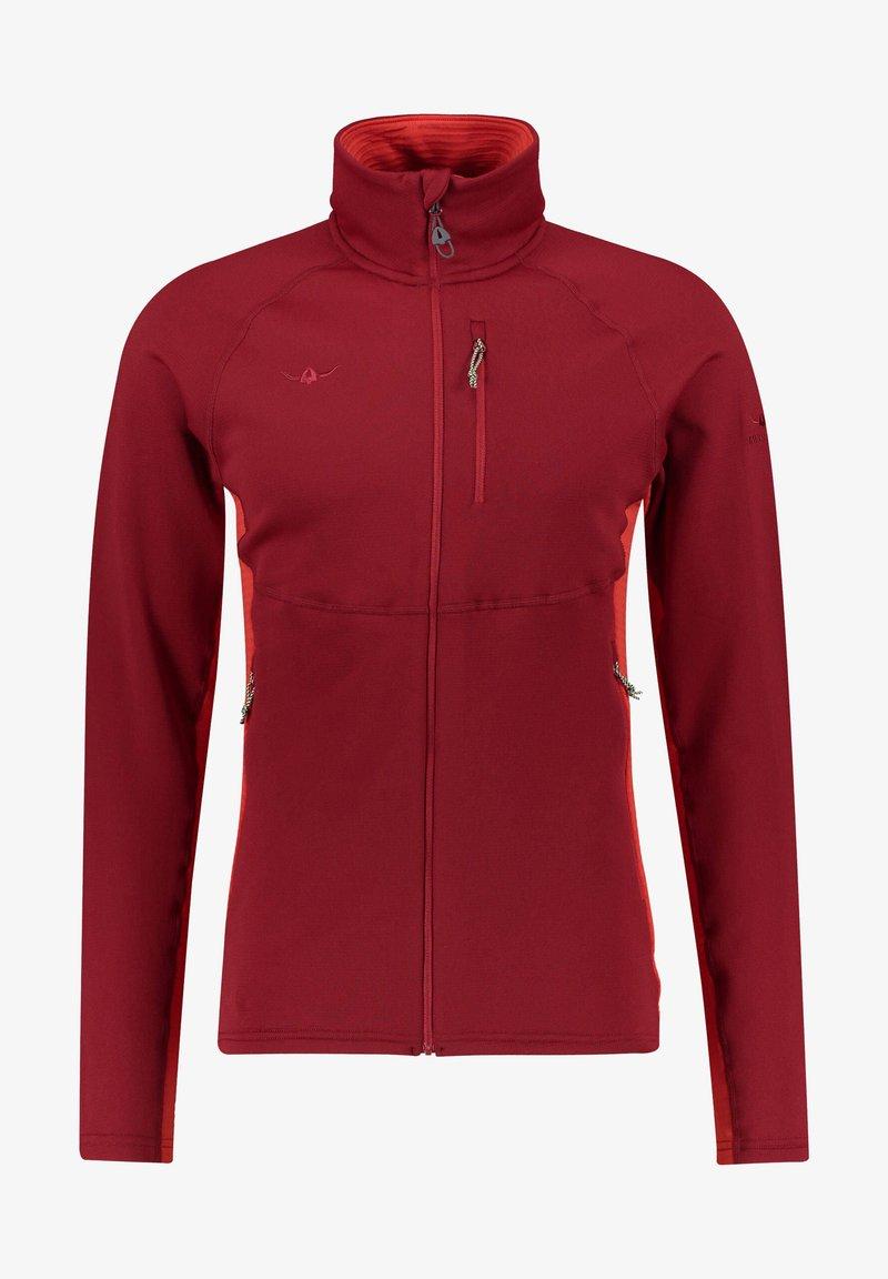 Kaikkialla - Fleece jacket - rot (500)