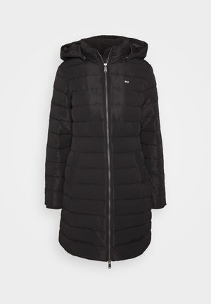 QUILTED COAT - Down coat - black