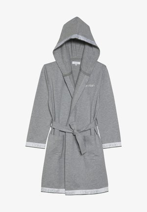 HOODED ROBE - Župan - grey