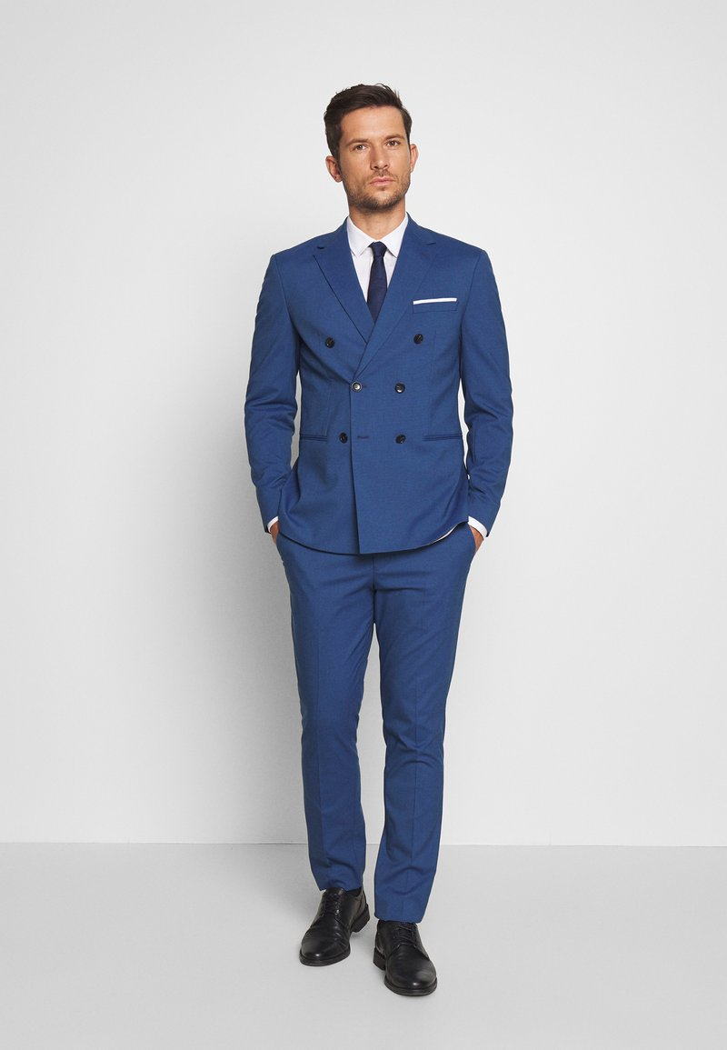 Selected Homme - SLHSLIM SUIT - Suit - estate blue