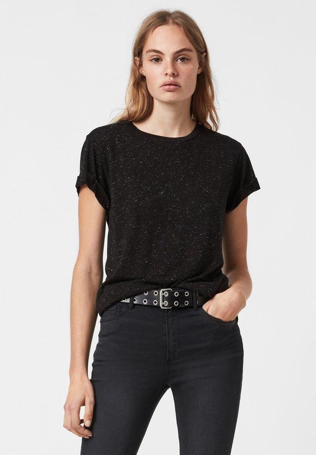 ANNA  - T-shirt basic - black