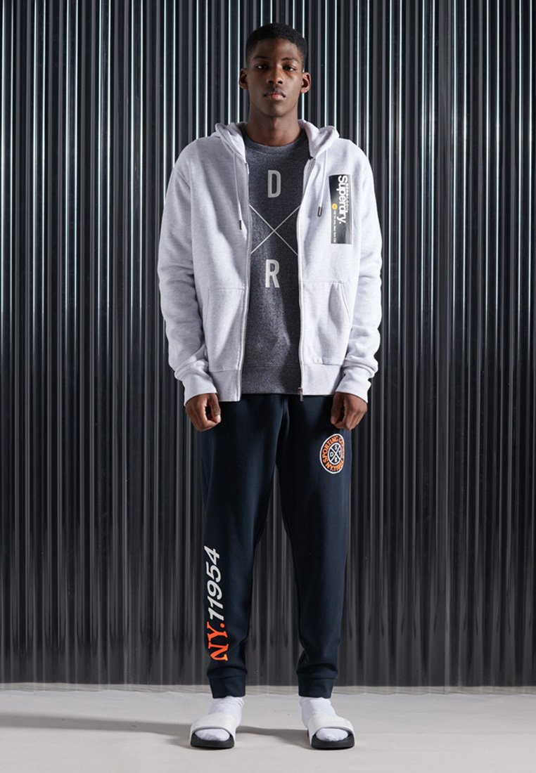 Superdry - CORE LOGO TRANSIT - Zip-up hoodie - ice marl