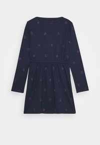 GAP - GIRLS FLIP LOGO DRESS - Žerzejové šaty - navy - 1