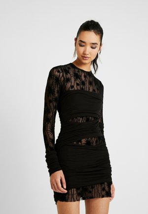 D-LARY DRESS - Shift dress - black