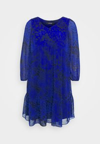 Evans - ANIMAL DRESS - Day dress - blue - 6