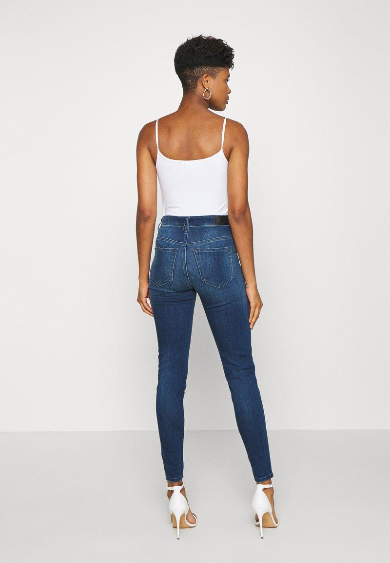 Diesel - SLANDY HIGH - Jeans Skinny Fit - indigo