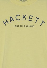 Hackett London - LOGO - Print T-shirt - yellow - 3
