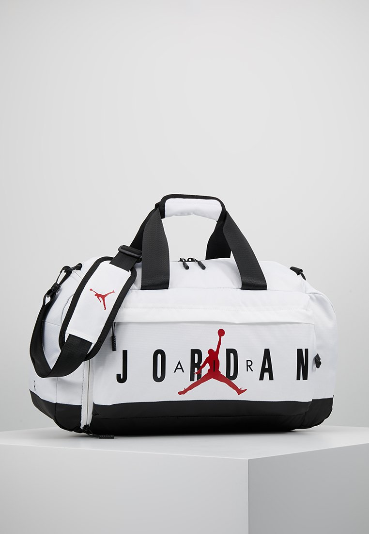 Jordan - AIR DUFFLE - Sportovní taška - white