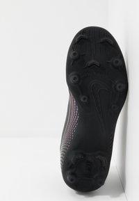 Nike Performance - MERCURIAL 7 CLUB FG/MG - Moulded stud football boots - black - 5
