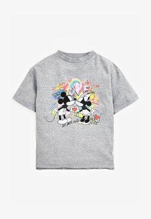 LICENSE DISNEY MINNIE & MICKEY GRAFFITI - Print T-shirt - grey