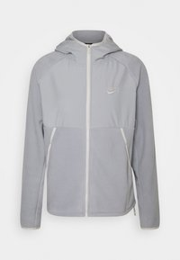 Nike Sportswear - HOODIE WINTER - Forro polar - light smoke grey/light bone - 0