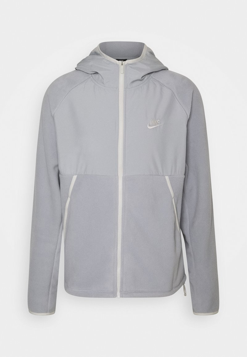 Nike Sportswear - HOODIE WINTER - Forro polar - light smoke grey/light bone