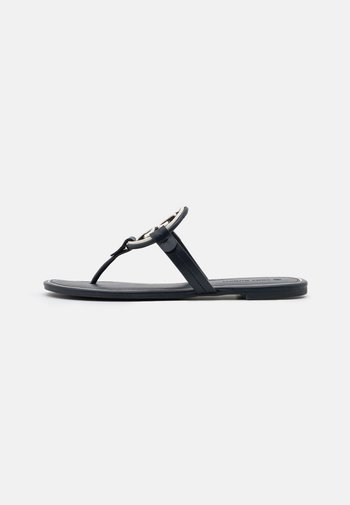 MILLER - Flip Flops - perfect navy/new invory