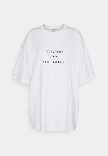 CISSI TEE - T-shirts med print - white light