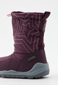 Kappa - CESSY TEX UNISEX - Winter boots - purple/rosé - 5