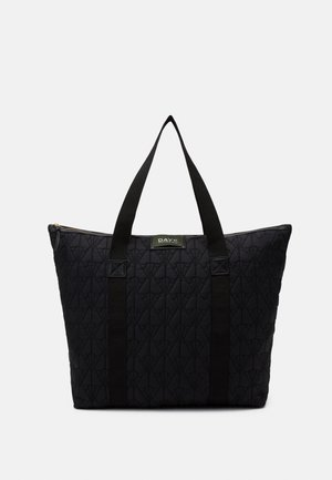 GWENETH DECOR BAG - Tote bag - black