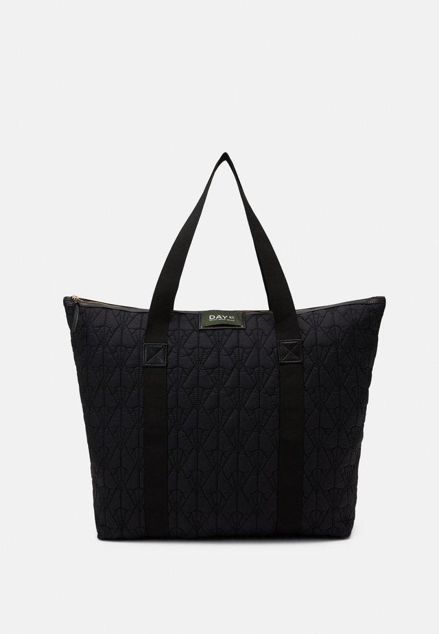GWENETH DECOR BAG - Shopping bag - black