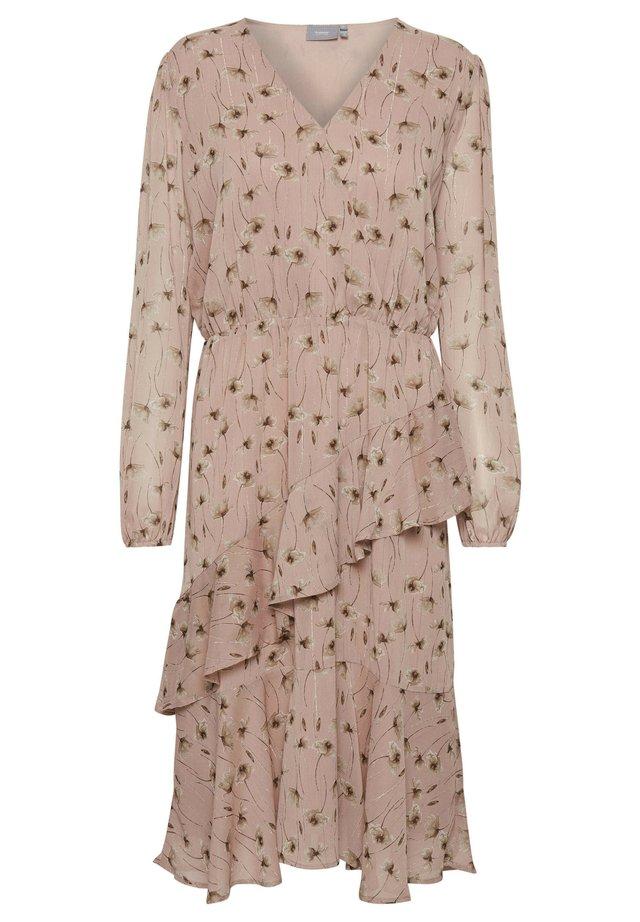BXINKI - Day dress - dark rose pearl combi