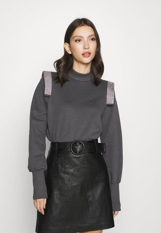 DIAMONTE - Sweatshirt - charcoal