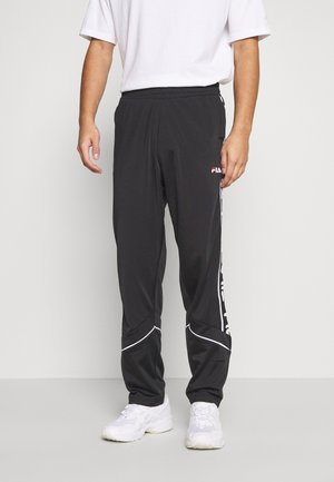 TED TRACK PANTS - Tracksuit bottoms - black