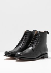 Grenson - ELLA - Lace-up ankle boots - black - 4