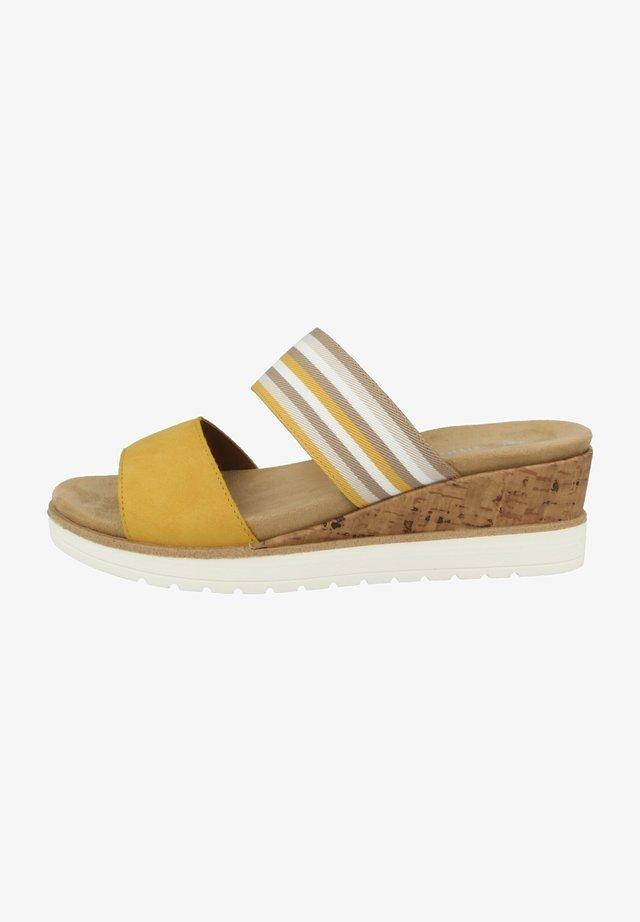 Muiltjes - sun-yellow-beige