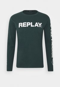 Replay - Long sleeved top - bottle green - 3