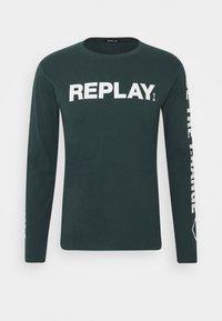 Replay - Maglietta a manica lunga - bottle green - 3