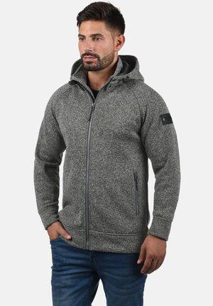 CHILLINGWORTH - Zip-up hoodie - mottled dark grey