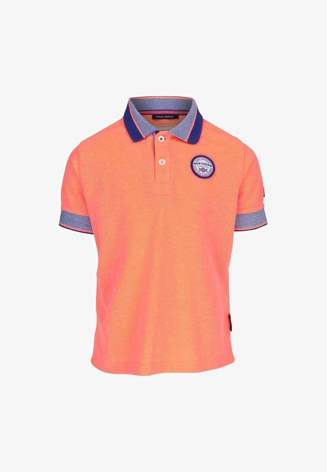 FIERY CORAL - Poloshirt - orange