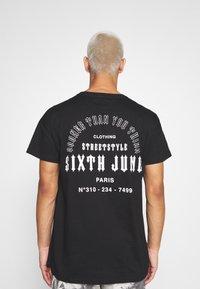 Sixth June - SOONER THAN YOU THINK TEE - Print T-shirt - black - 2