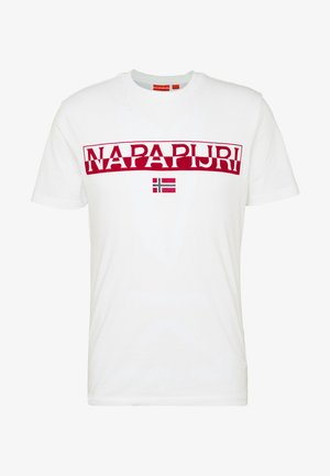 SARAS SOLID - T-shirts med print - bright white