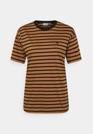 ROBIE - Print T-shirt - robie/rum/black