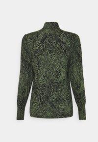 ONLY - ONLAMINA - Long sleeved top - balsam green/black - 1
