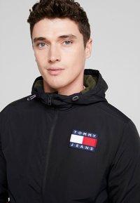 Tommy Jeans - JACKET - Light jacket - black - 3