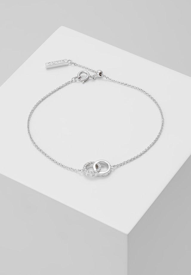 BEJEWELLED INTERLINK CHAIN BRACELET - Bracelet - silver-coloured
