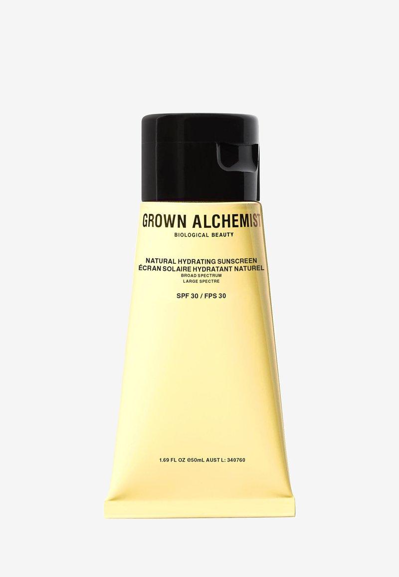 Grown Alchemist - NATURAL HYDRATING SUNSCREEN, BROAD SPECTRUM SPF-30 - Sun protection - -