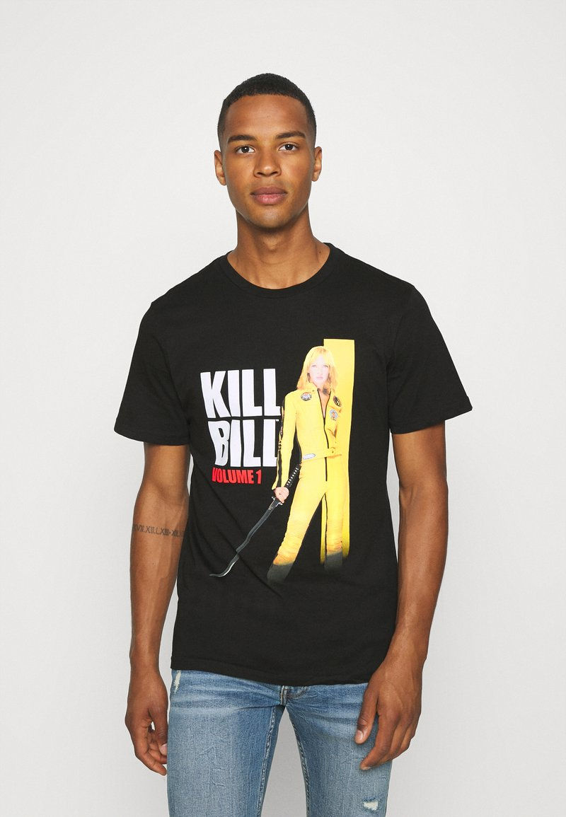 Cotton On - TV MOVIE - Print T-shirt - black