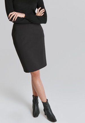 PRAWIKO - Pencil skirt - black