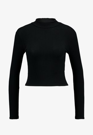 LETTUCE EDGE - Long sleeved top - black
